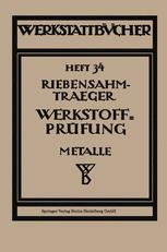 Werkstoffprüfung (Metalle)
