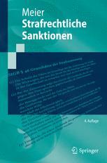 Strafrechtliche Sanktionen