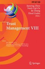 Trust Management VIII