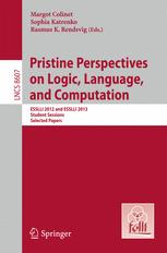 Pristine Perspectives on Logic, Language, and Computation