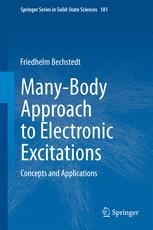 Many-Body Approach to Electronic Excitations