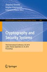 Cryptography and Security Systems