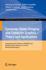 Computer Vision, Imaging and Computer Graphics -- Theory and Applications