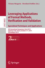 Leveraging Applications of Formal Methods, Verification and Validation. Specialized Techniques and Applications