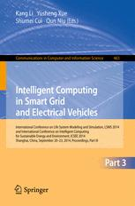 Intelligent Computing in Smart Grid and Electrical Vehicles