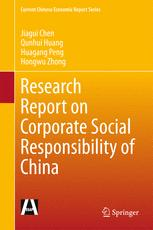 Research Report on Corporate Social Responsibility of China