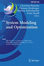 System Modeling and Optimization