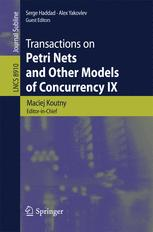 Transactions on Petri Nets and Other Models of Concurrency IX