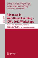 Advances in Web-Based Learning – ICWL 2013 Workshops