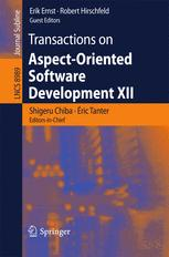 Transactions on Aspect-Oriented Software Development XII