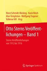 Otto Sterns Veröffentlichungen – Band 1