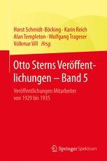 Otto Sterns Veröffentlichungen – Band 5
