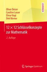 12 × 12 Schlüsselkonzepte zur Mathematik