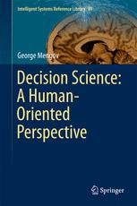 Decision Science: A Human-Oriented Perspective