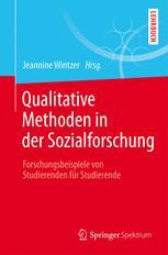 Qualitative Methoden in der Sozialforschung