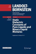 Static Dielectric Constants of Pure Liquids and Binary Liquid Mixtures