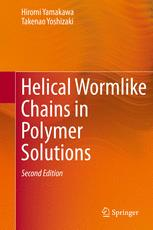 Helical Wormlike Chains in Polymer Solutions
