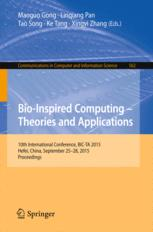 Bio-Inspired Computing -- Theories and Applications