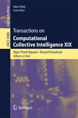 Transactions on Computational Collective Intelligence XIX