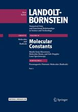 Molecular Constants Mostly from Microwave, Molecular Beam, and Sub-Doppler Laser Spectroscopy