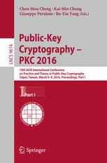 Public-Key Cryptography – PKC 2016