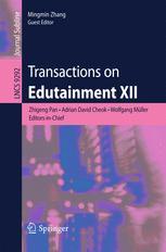 Transactions on Edutainment XII