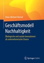 Geschäftsmodell Nachhaltigkeit