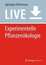 Experimentelle Pflanzenökologie