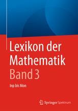 Lexikon der Mathematik: Band 3