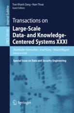 Transactions on Large-Scale Data- and Knowledge-Centered Systems XXXI