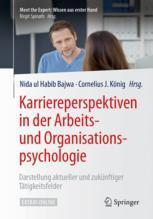 Karriereperspektiven in der Arbeits- und Organisationspsychologie