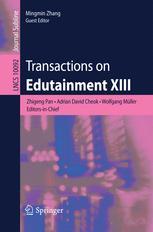 Transactions on Edutainment XIII