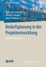 Bedarfsplanung in der Projektentwicklung