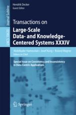 Transactions on Large-Scale Data- and Knowledge-Centered Systems XXXIV