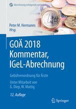 GOÄ 2018 Kommentar, IGeL-Abrechnung