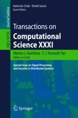 Transactions on Computational Science XXXI