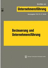 Besteuerung und Unternehmensführung