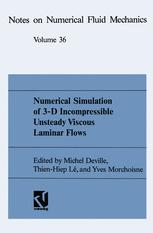 Numerical Simulation of 3-D Incompressible Unsteady Viscous Laminar Flows