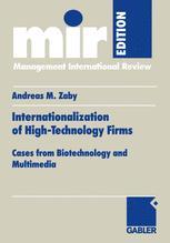 Internationalization of High-Technology Firms
