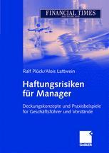 Haftungsrisiken für Manager