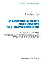 Marktorientierte Instrumente der Umweltpolitik