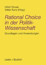 Rational Choice in der Politikwissenschaft
