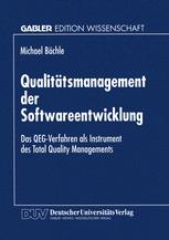 Qualitätsmanagement der Softwareentwicklung