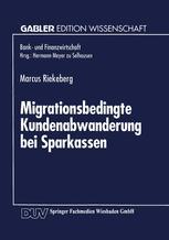 Migrationsbedingte Kundenabwanderung bei Sparkassen