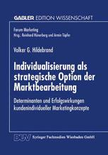 Individualisierung als strategische Option der Marktbearbeitung