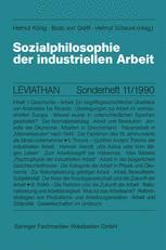Sozialphilosophie der industriellen Arbeit