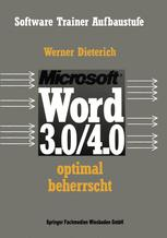 Word 3.0/4.0 optimal beherrscht