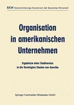 Organisation in amerikanischen Unternehmen