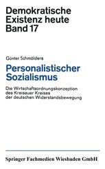 Personalistischer Sozialismus
