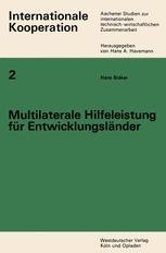 Multilaterale Hilfeleistung für Entwicklungsländer